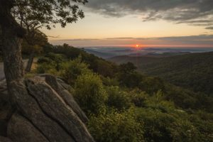 Shenandoah National Park at Sunrise