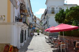 Outdoor Cafes Popular in Spain
