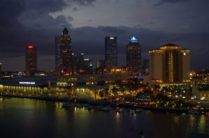 Tampa Bay in the Evening