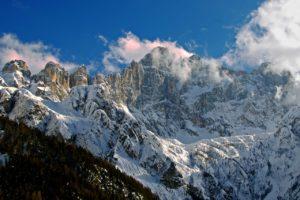 Stunning Dolomite Mountains
